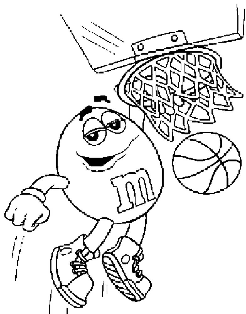 Free printable m&m coloring pages - a-k-b.info