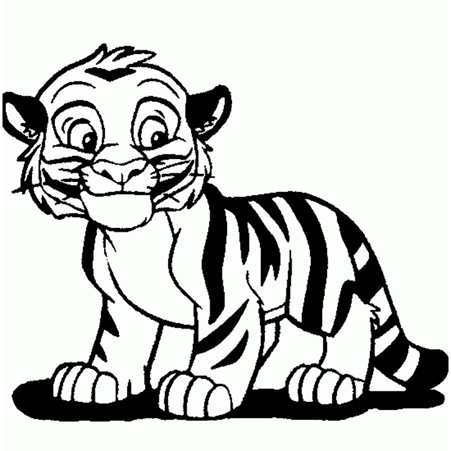 White tiger images for kids