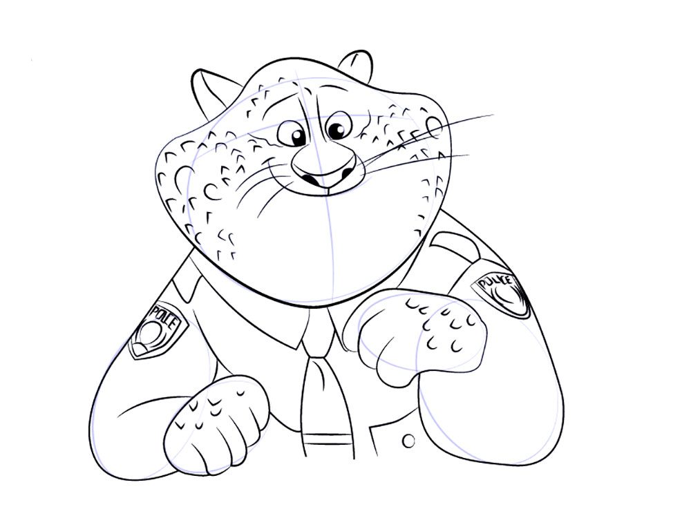 Zootophia Coloring Pages