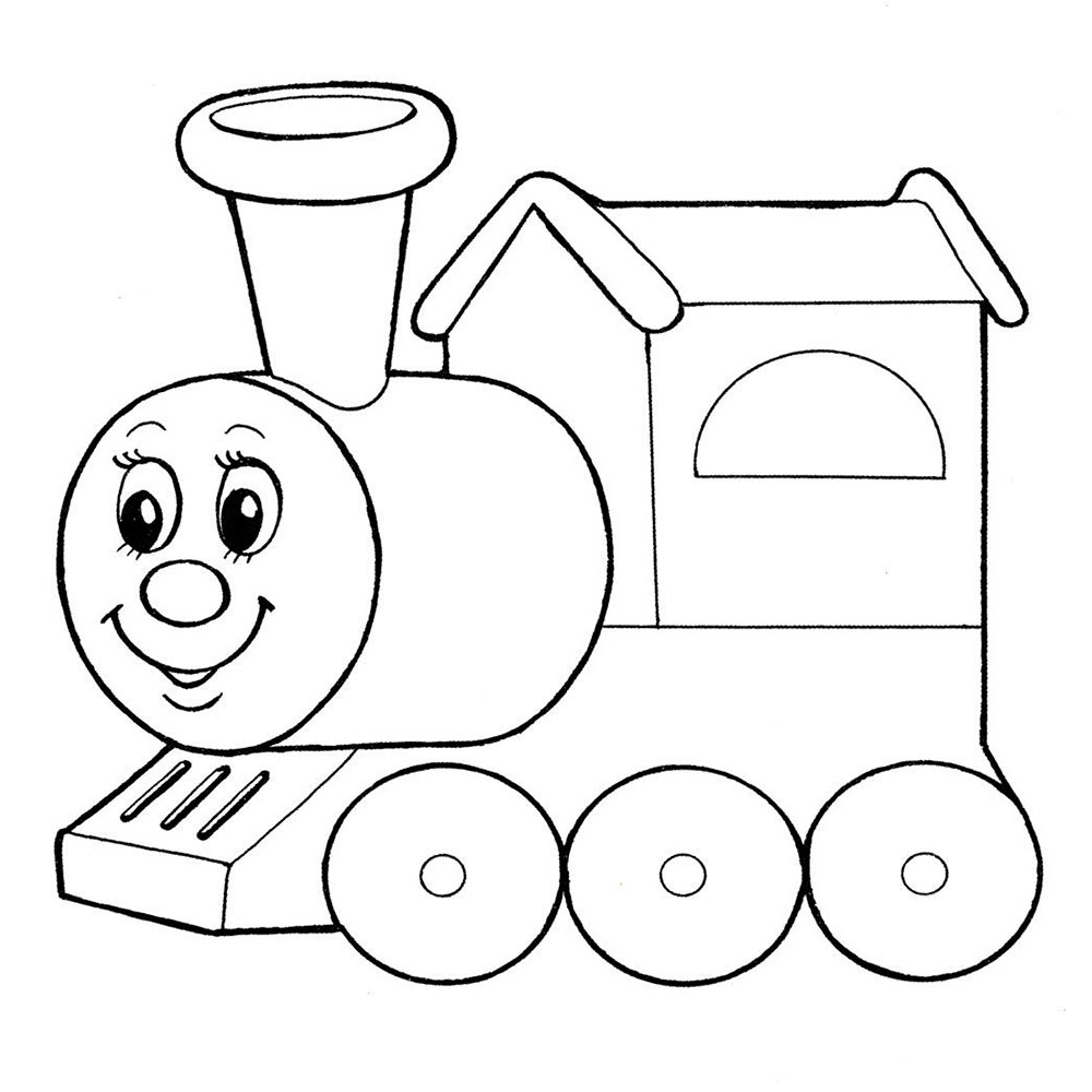 Galerry alphabet train coloring